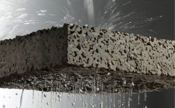calcestruzzo drenante